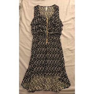 Xhilaration Tribal High Low Dress